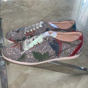 Gucci St.Tian/Multi Color sneaker Silver/ glitter